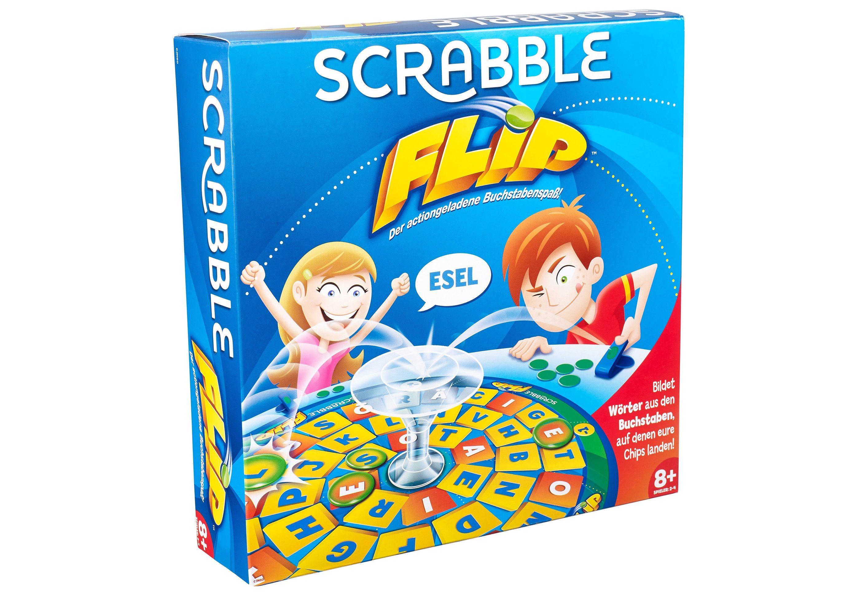 Mattel, Brettspiel, »Mattel Games - Scrabble Flip«