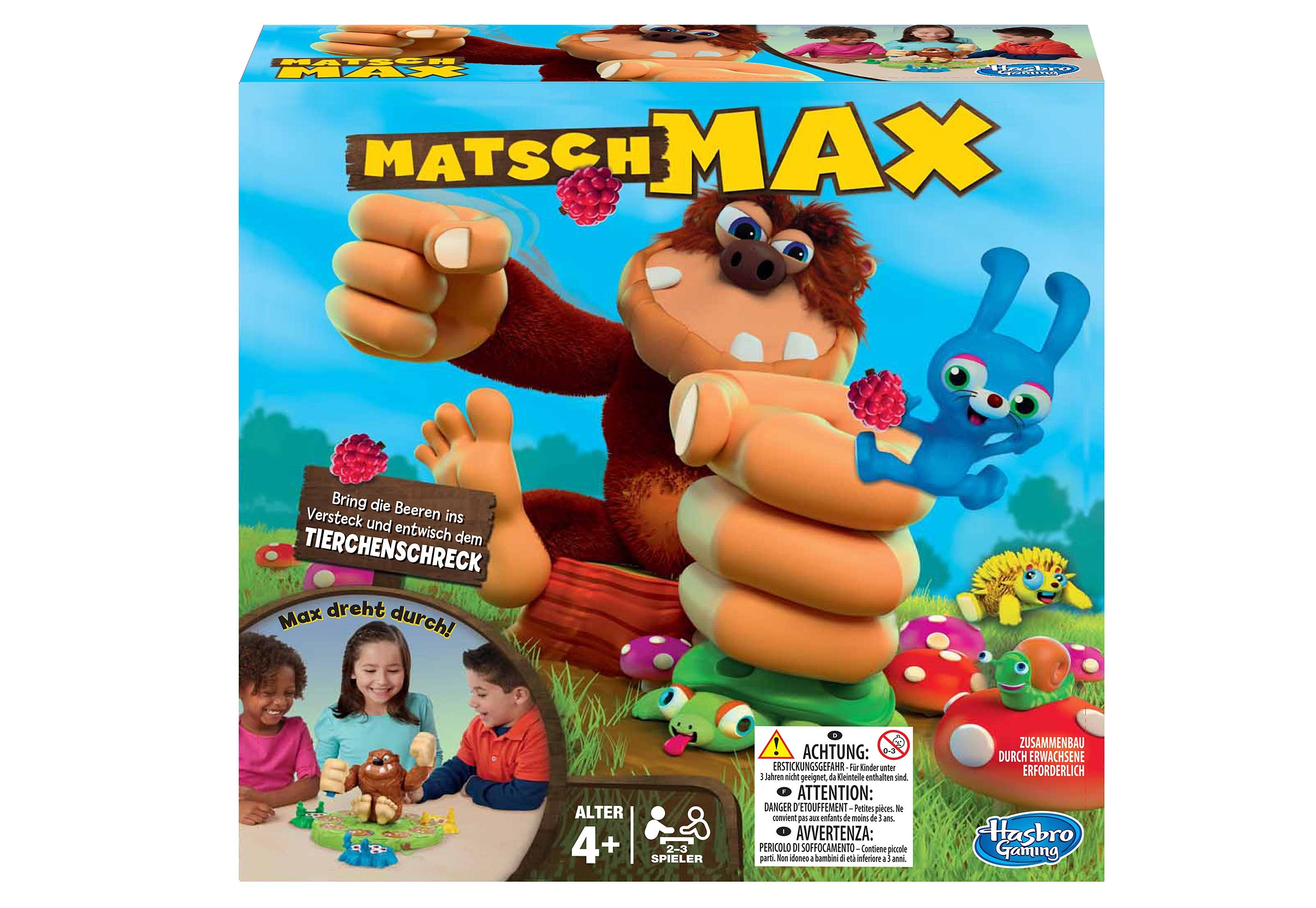 Hasbro Actionspiel, »Matsch Max«