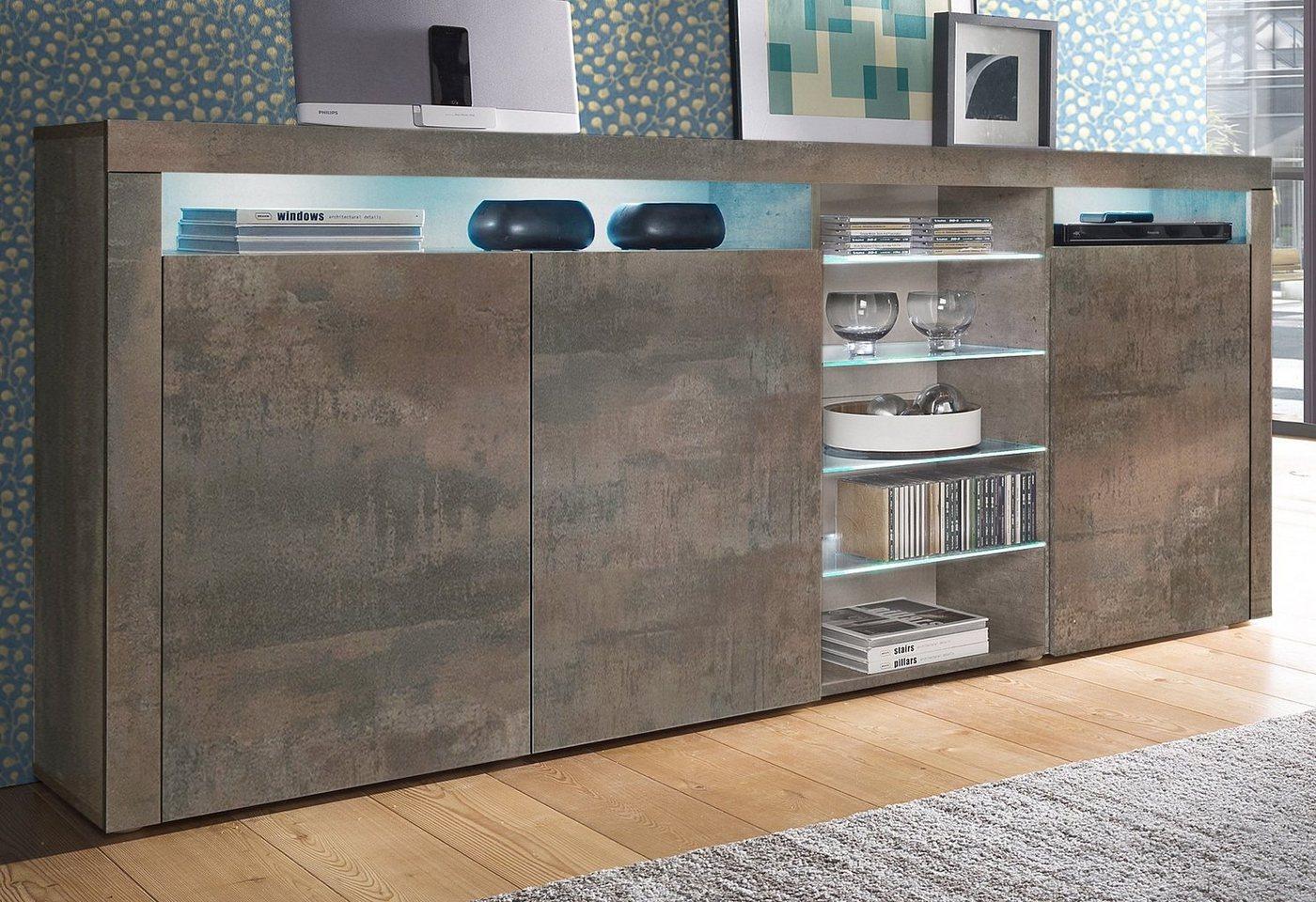 highboard weiss hochglanz sonstige preisvergleiche. Black Bedroom Furniture Sets. Home Design Ideas