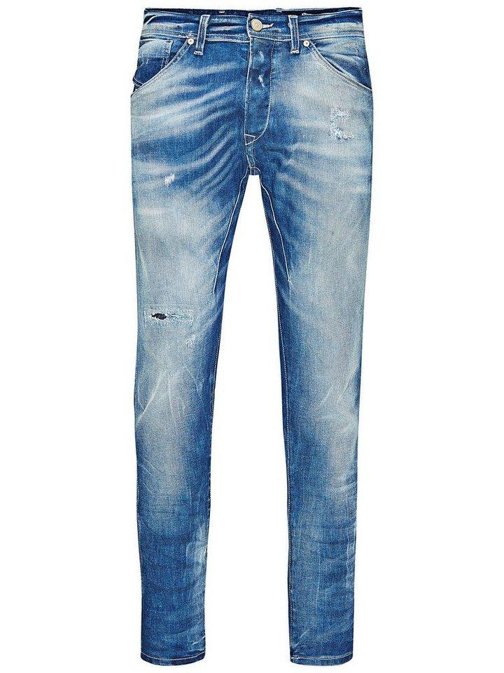 Jack & Jones Erik Tristan BL 452 Anti Fit Jeans in Blue Denim