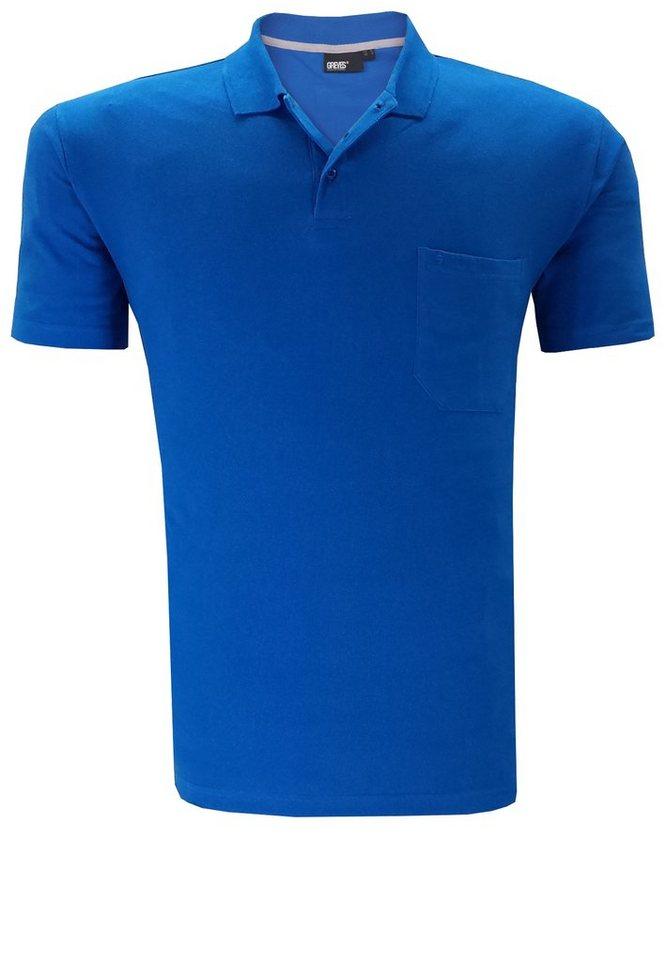 greyes Poloshirt in Blau