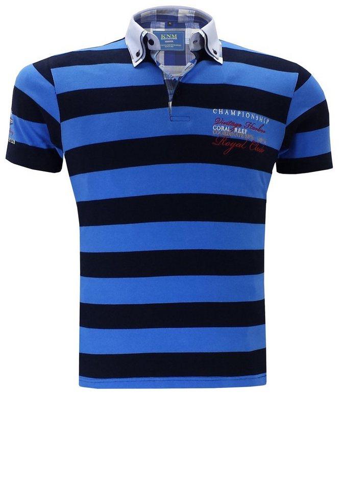 kenmore Poloshirt in Blau
