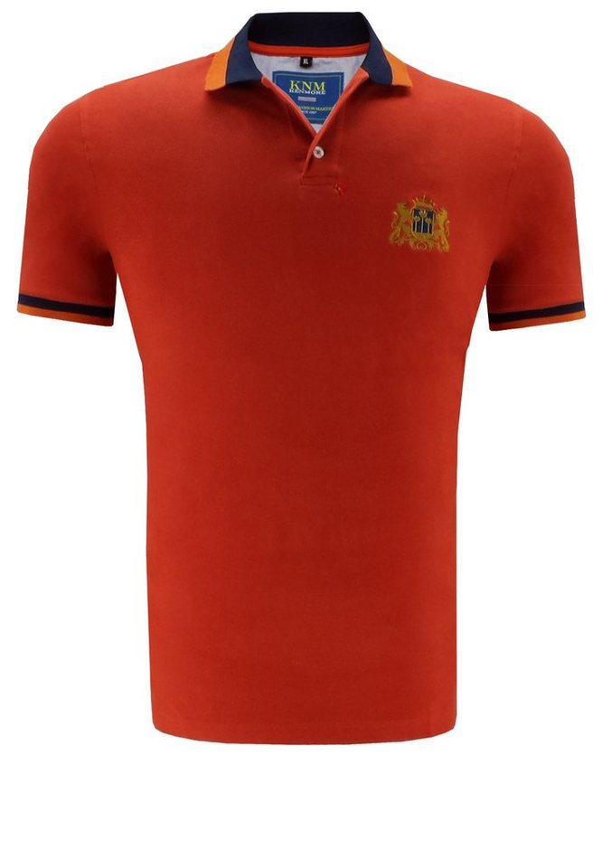 kenmore Poloshirt in Orange