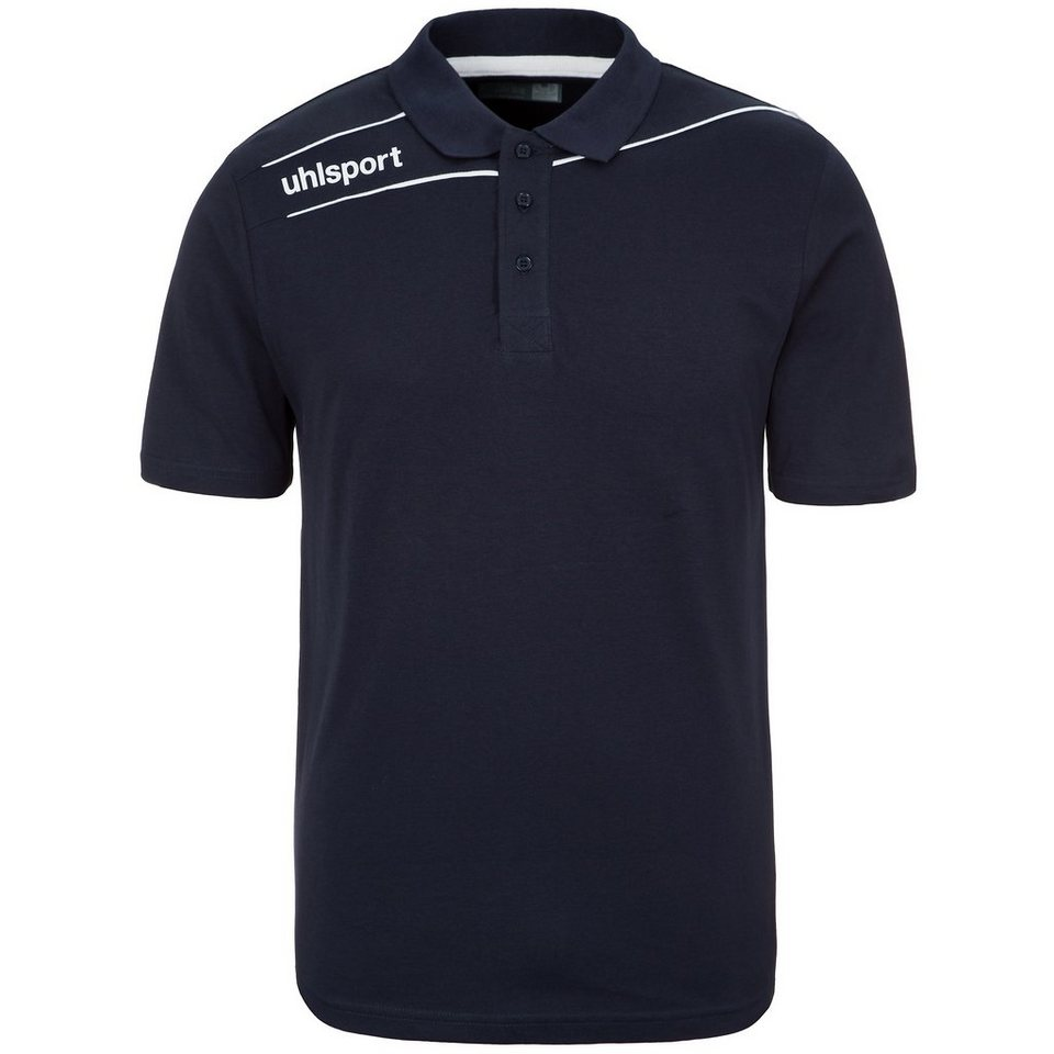 UHLSPORT Stream 3.0 Polo Shirt Herren in marine/weiß
