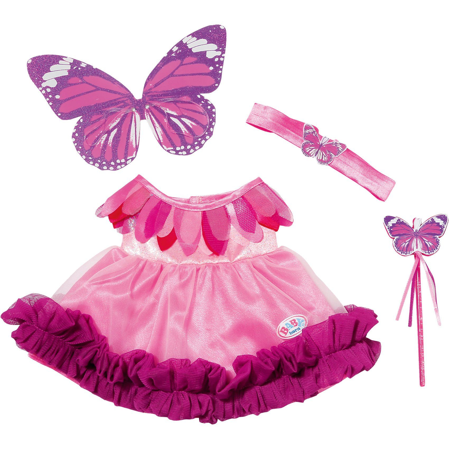 Zapf Creation BABY born® Puppenkleidung Feenkleid Wonderland, 43 cm
