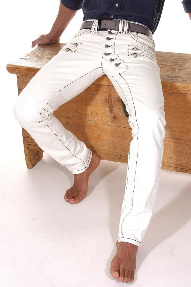 Bright Jeans Jeans regular fit in weiss