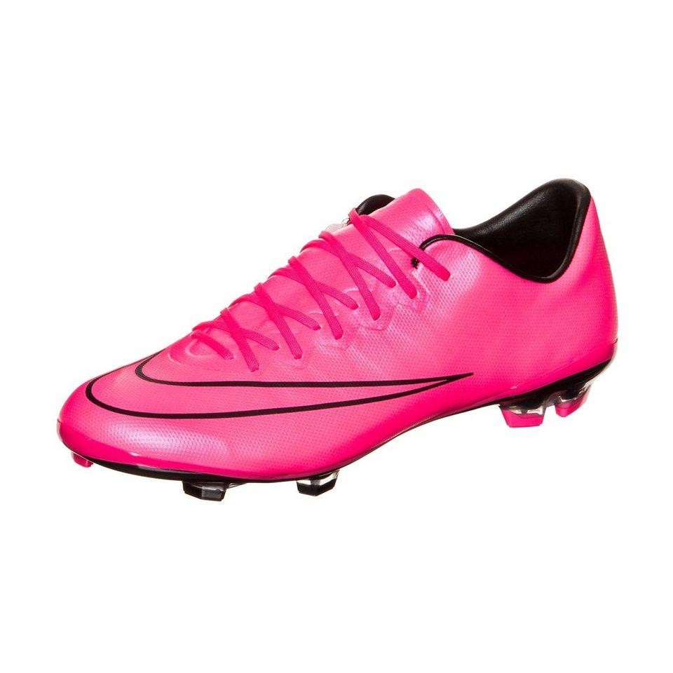 NIKE Mercurial Vapor X FG Fußballschuh Kinder in pink / schwarz