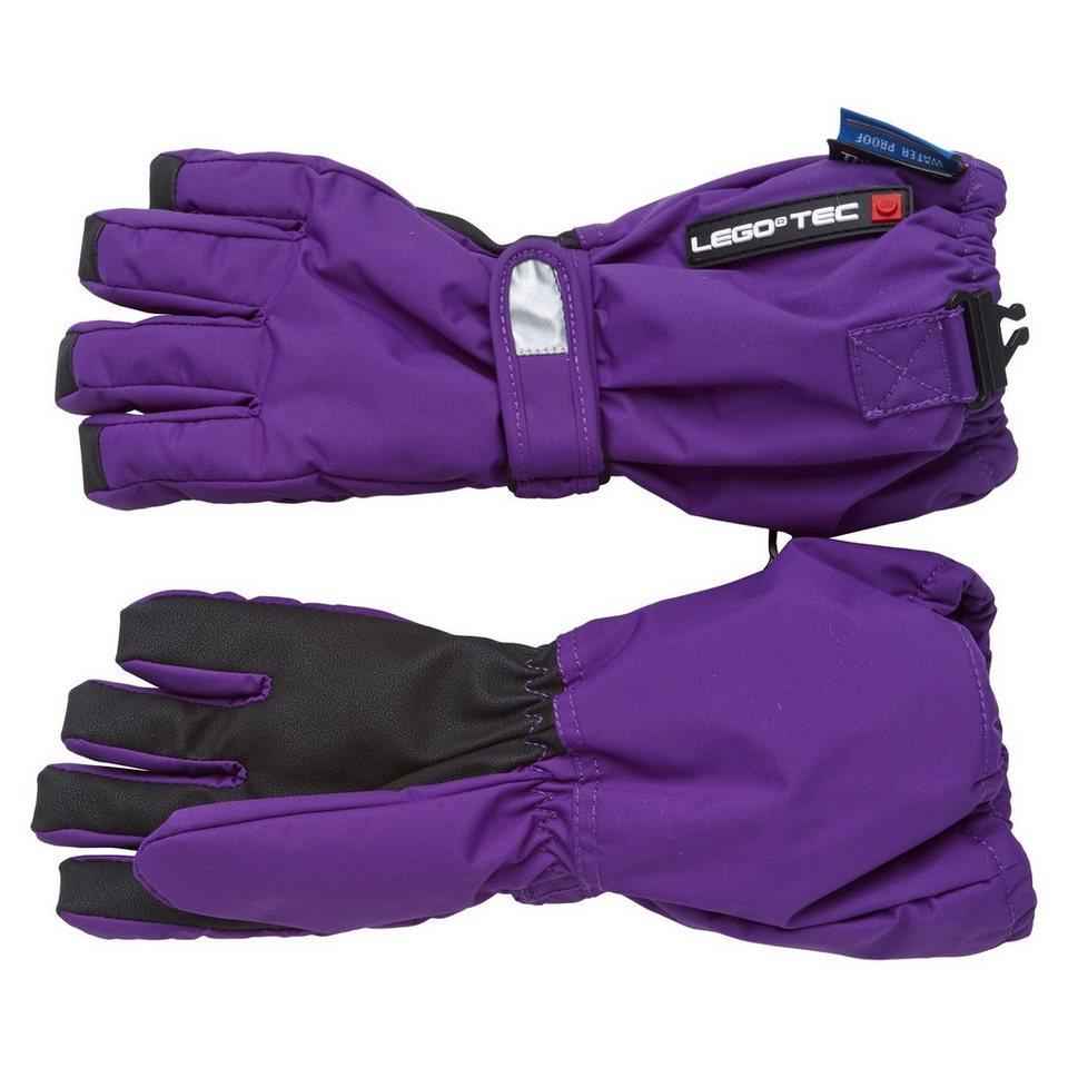 LEGO Wear Handschuhe Abbey Fan-Tex Membran LEGO® TEC 8.000 mm Wassersäule in violett
