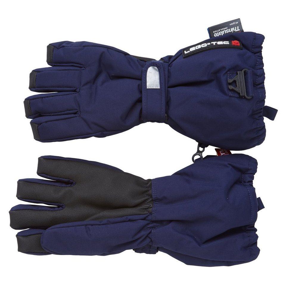 LEGO Wear Handschuhe Abbey Fan-Tex Membran LEGO® TEC 8.000 mm Wassersäule in dunkelblau