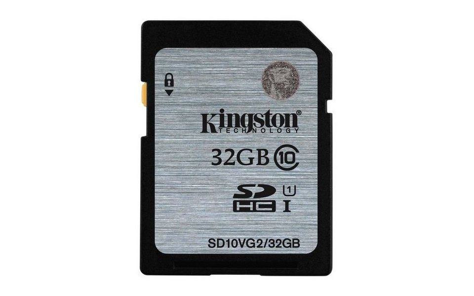 Kingston Speicherkarte »SDXC Card Class 10 UHS-I 45MB/s, 32GB« in Grau