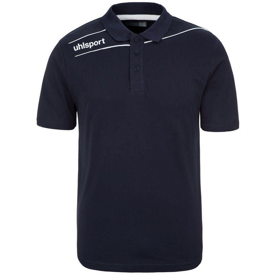 UHLSPORT Stream 3.0 Polo Shirt Kinder in marine/weiß