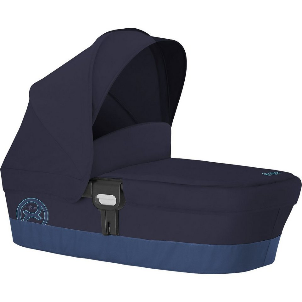 Cybex Kinderwagenaufsatz Carry Cot M, Gold-Line, True Blue, 2016 in blau