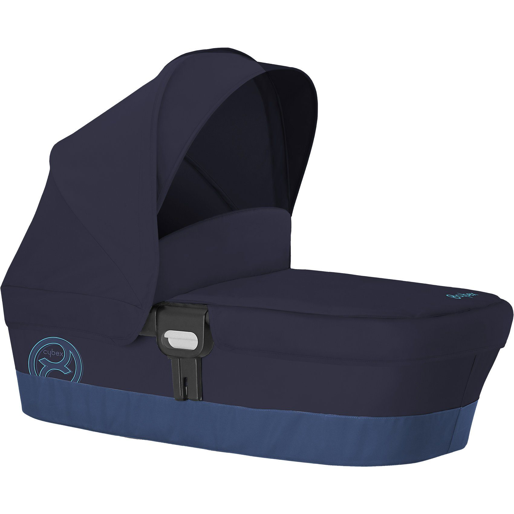 Cybex Kinderwagenaufsatz Carry Cot M, Gold-Line, True Blue, 2017