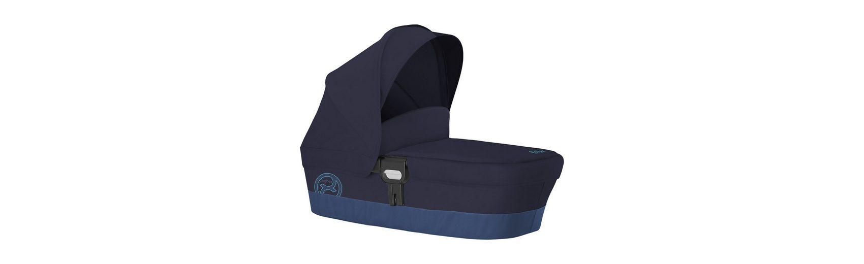 Cybex Kinderwagenaufsatz Carry Cot M, Gold-Line, True Blue, 2016