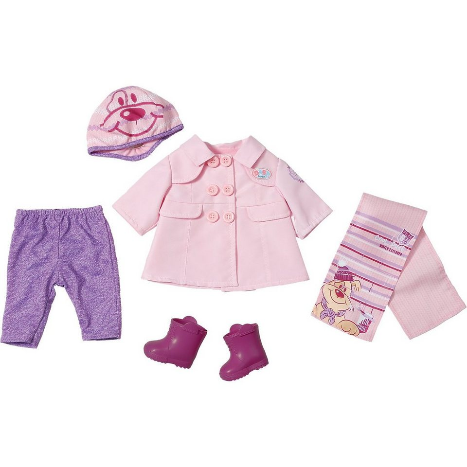Zapf Creation BABY born® Deluxe Puppenkleidung Kalte Tage