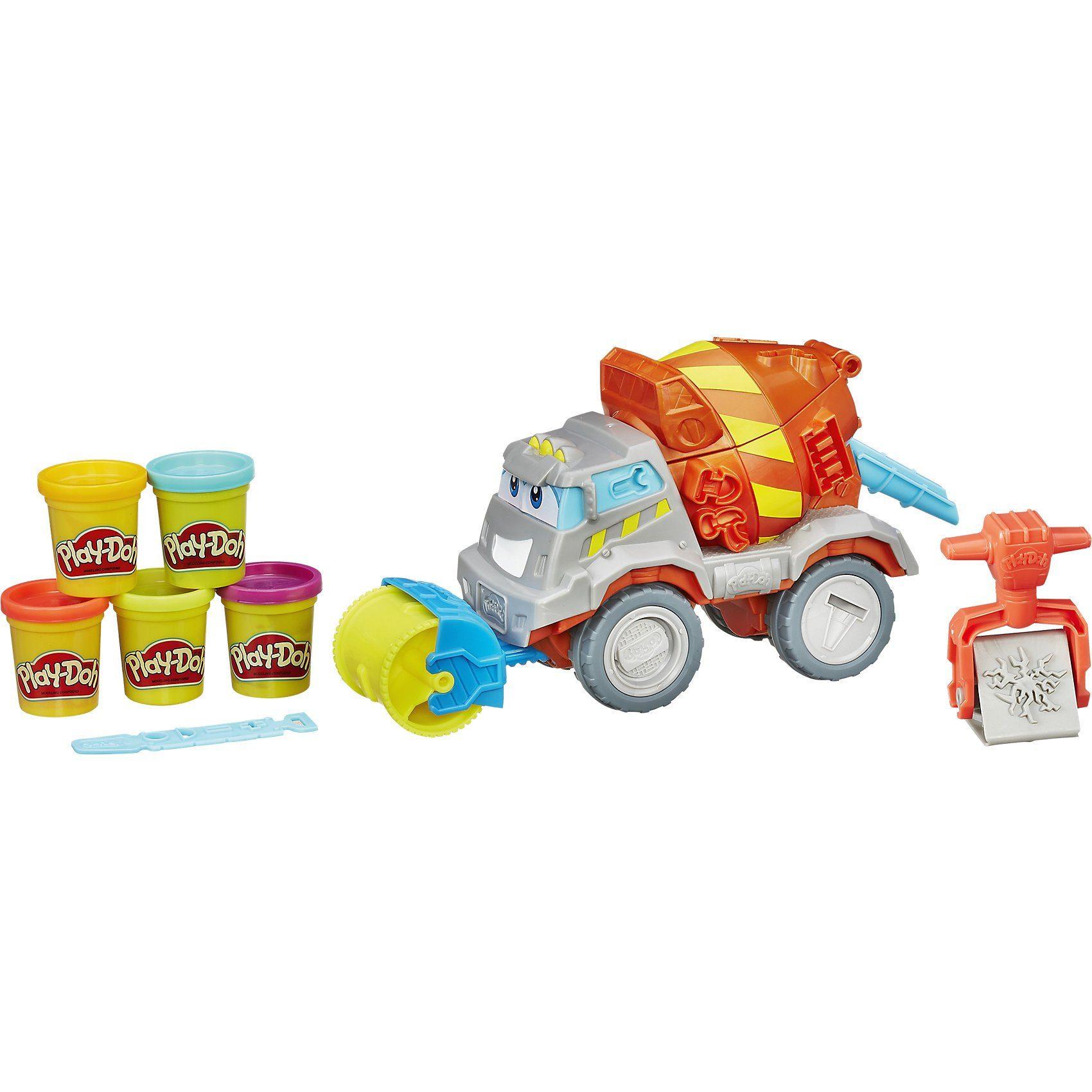 Hasbro Play-Doh - Max, der Zementmixer
