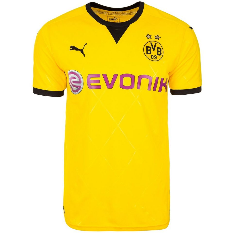 PUMA Borussia Dortmund Trikot International 2015/2016 Herren in gelb / schwarz