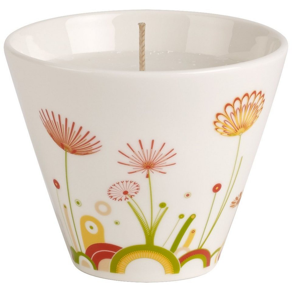 VILLEROY & BOCH Teelichthalter mit Kerze Sunrise »Little Gallery Candles« in Dekoriert