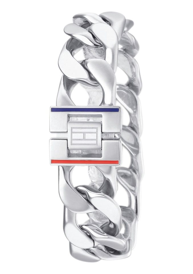 Tommy Hilfiger Jewelry Panzerarmband, »2700701, Classic Signature« in Edelstahl