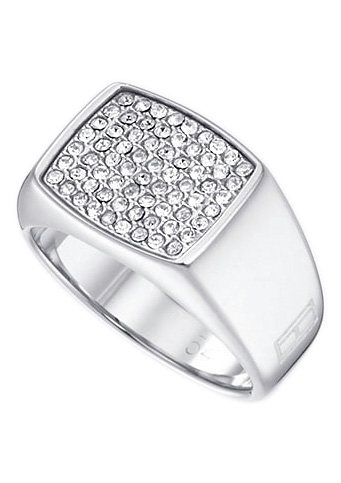 Tommy Hilfiger Jewelry Ring, »2700732B-E, Classic Signature« in Edelstahl