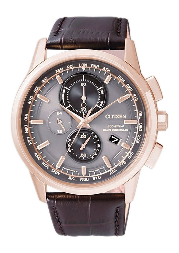 Citizen Funkchronograph »AT8113-12H« in braun