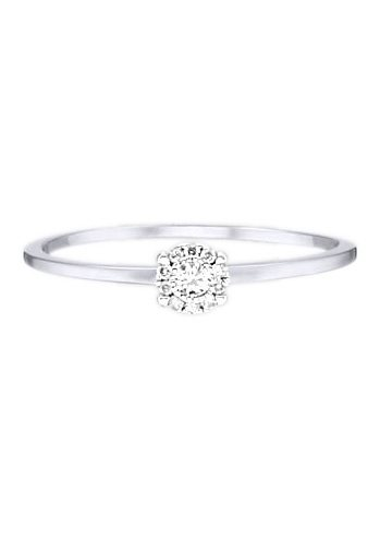 goldmaid Ring, »Pa R6810WG« in Weißgold 585