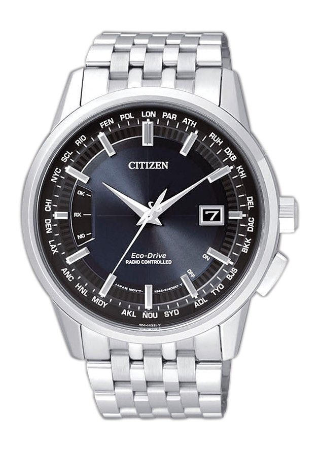 Citizen Funkuhr »CB0150-62L« in silberfarben