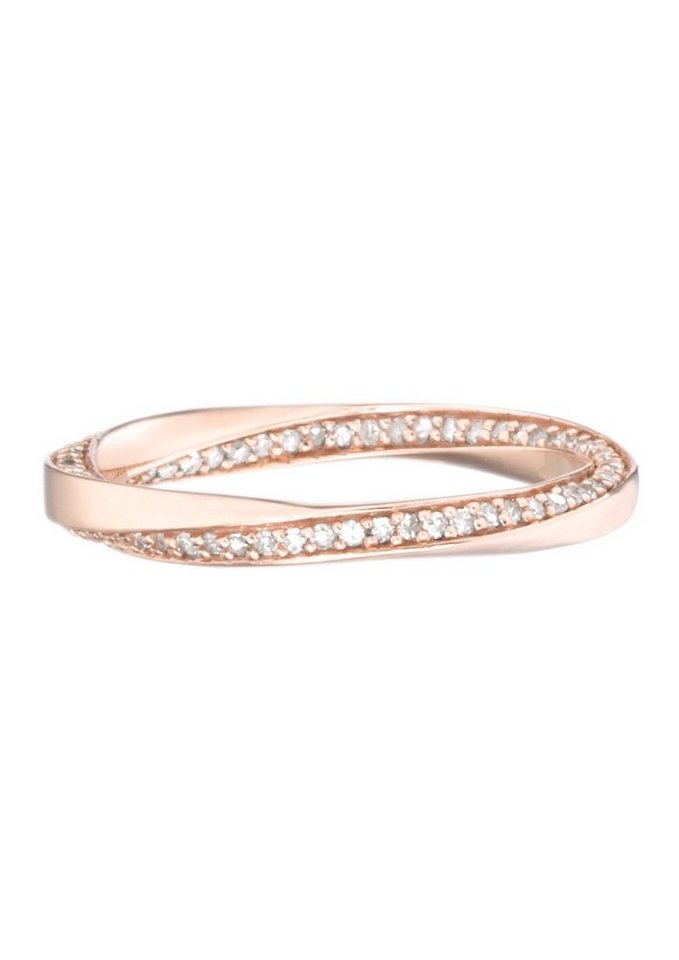 goldmaid Ring, »Pa R6240RG« in Rotgold 375