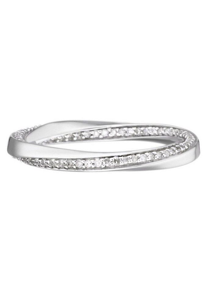 goldmaid Ring, »Pa R6240WG« in Weißgold 375