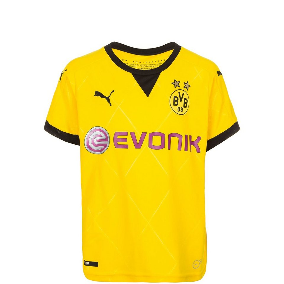 PUMA Borussia Dortmund Trikot International 2015/2016 Kinder in gelb / schwarz