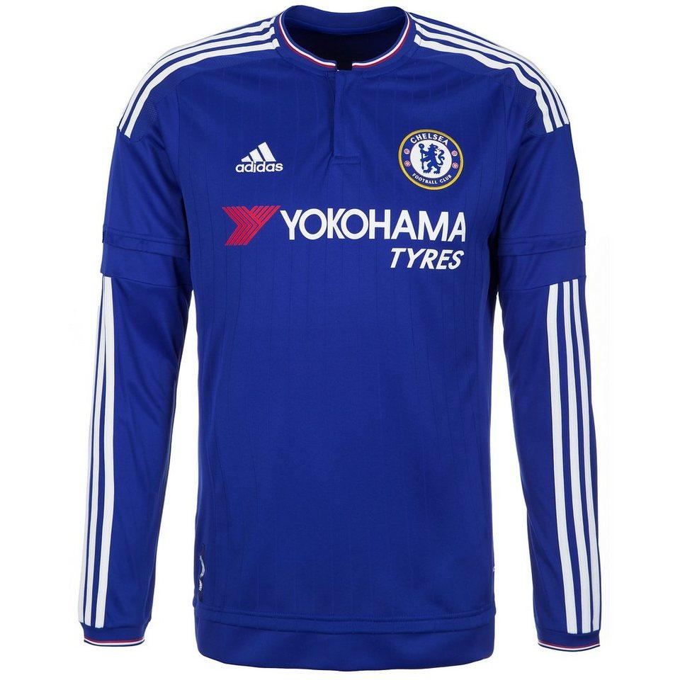 adidas Performance FC Chelsea Trikot Home 2015/2016 Herren in blau / weiß / rot