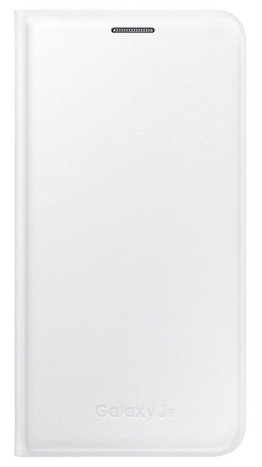 Samsung Handytasche »Flip Cover PU EF-WJ500 für Galaxy J5« in Weiß