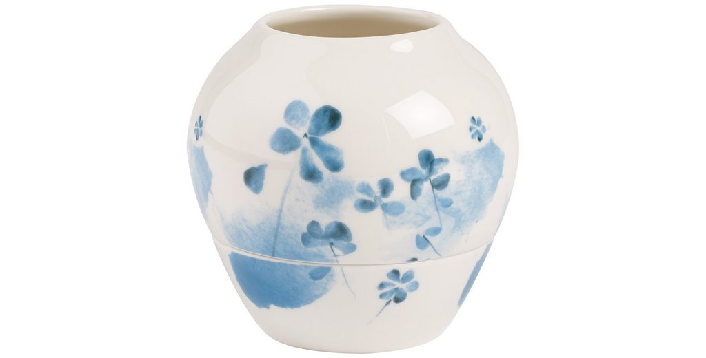VILLEROY & BOCH Windlicht Blue Blossom 9,6cm »Little Gallery Hurr.lamp«