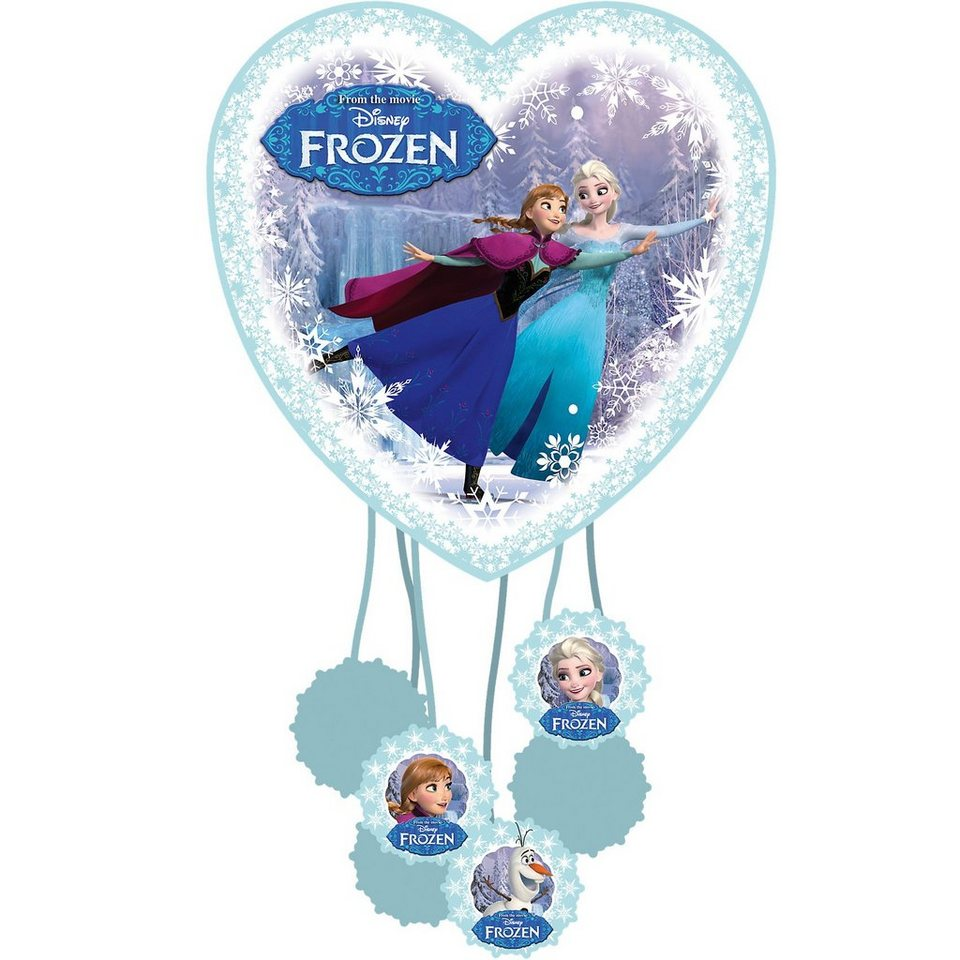 Amscan Pull Pinata Die Eiskönigin in blau
