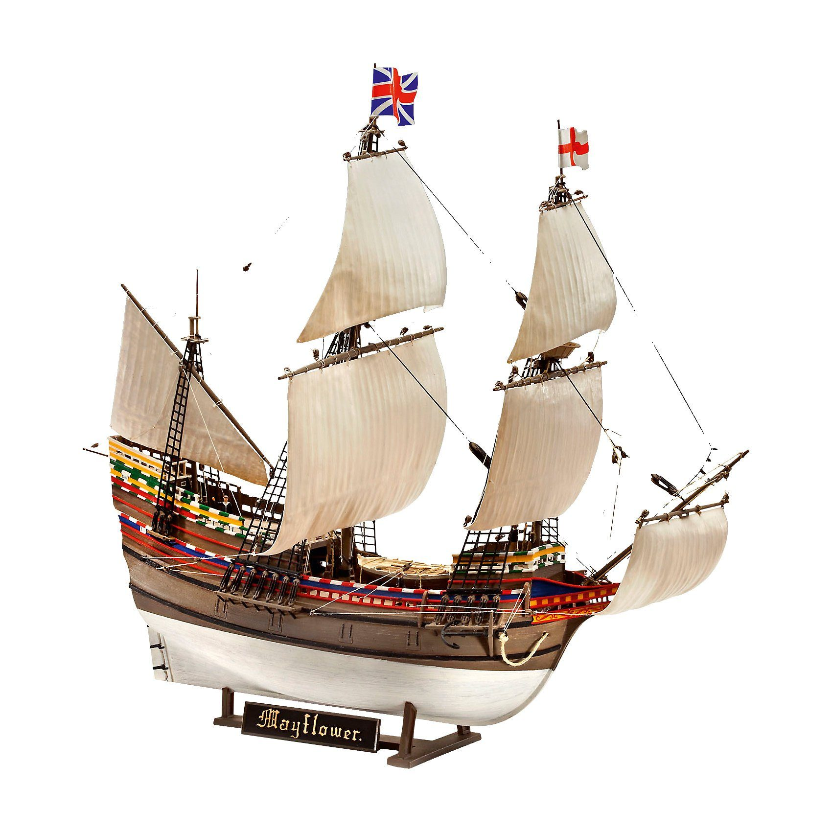 Revell Modellbausatz - Pilgrim Ship MAYFLOWER