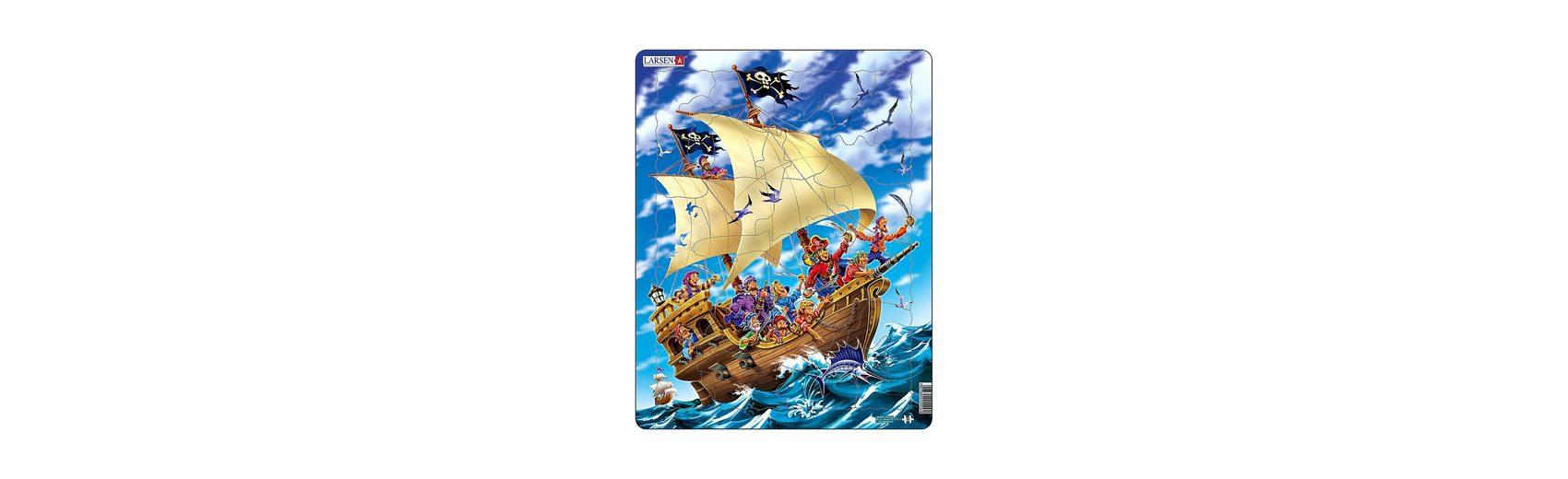 Larsen Rahmenpuzzle 30 Teile Piraten