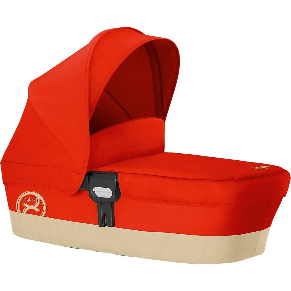 Cybex Kinderwagenaufsatz Carry Cot M, Gold-Line, Autumn Gold, 2016 in rot