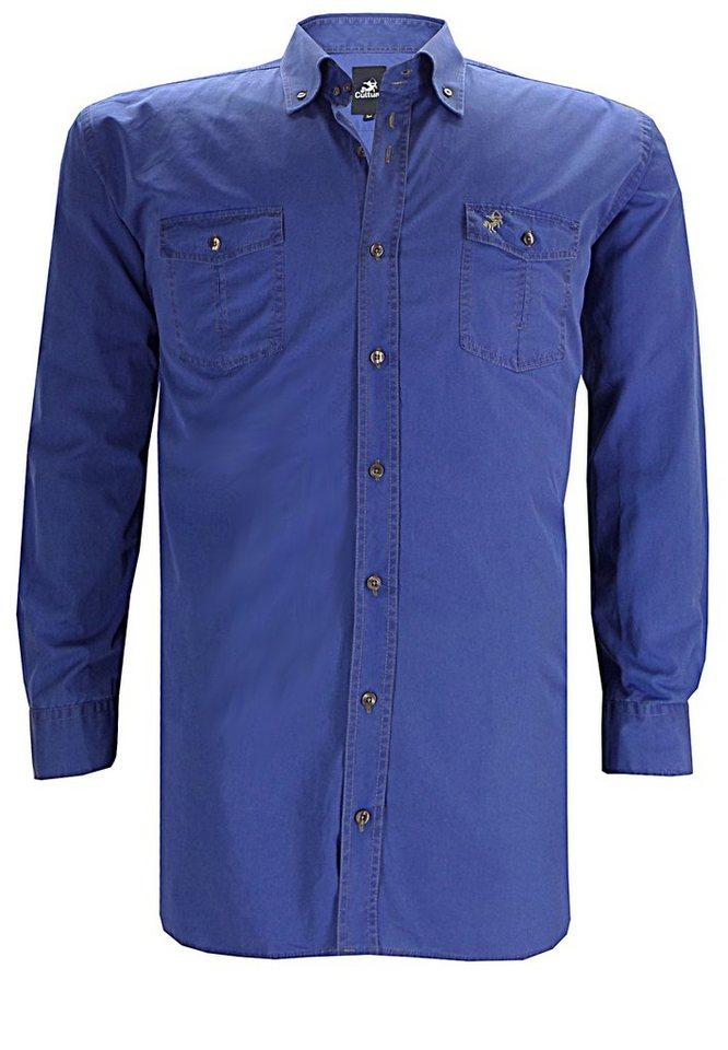 culture Oberhemd in Blau