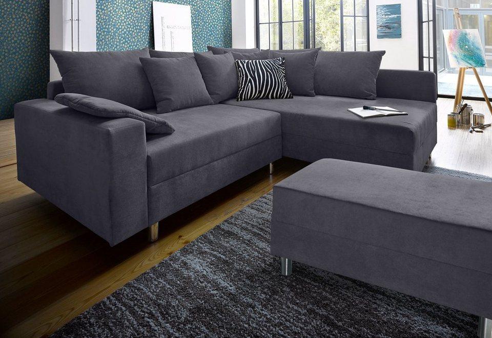 Collection Ab Ecksofa Inklusive Hocker Inklusive Komfortablen