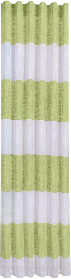 Vorhang, Happy Home, »TOSCA« (1 Stück) in limette