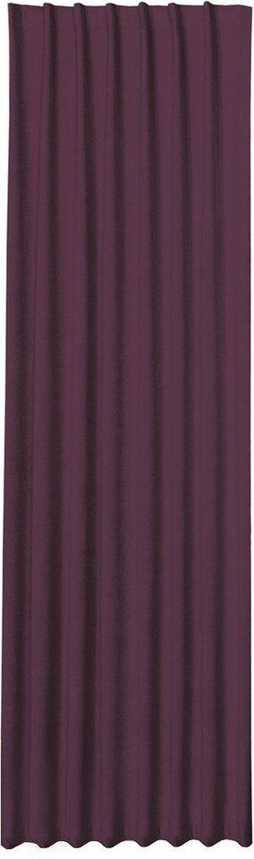 Vorhang, Happy Home, »DANA« (1 Stück) in aubergine