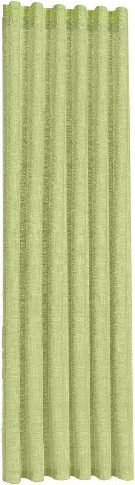 Vorhang, Happy Home, »ZINA« (1 Stück) in limette