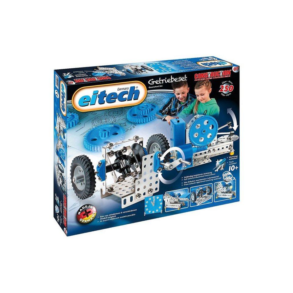 Eitech 7 EINSTEIGER Metallbaukasten - Getriebebaukasten online kaufen