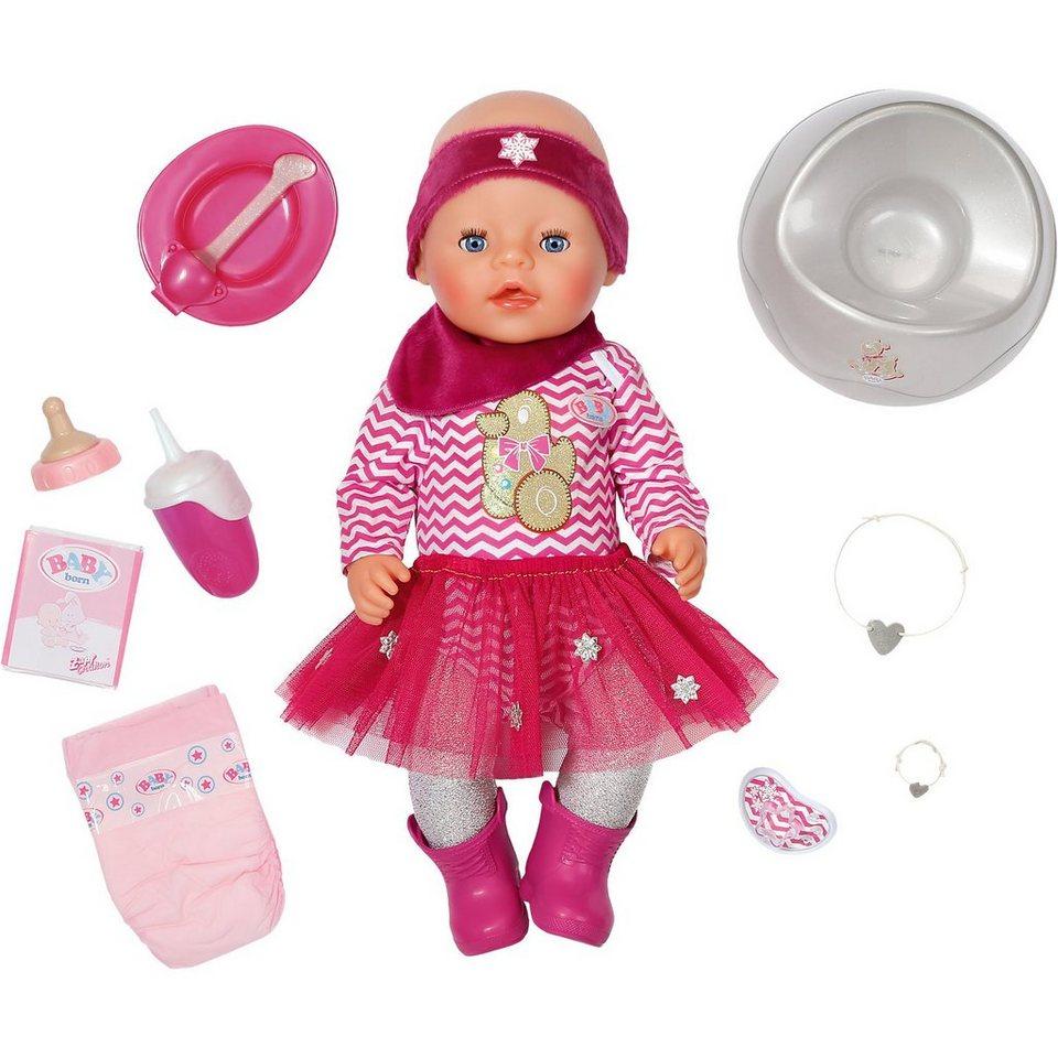zapf creation baby born interactive puppe im geschenke. Black Bedroom Furniture Sets. Home Design Ideas