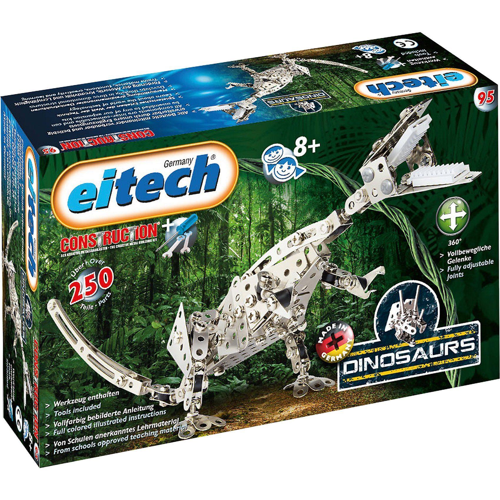 Eitech C95 EINSTEIGER Metallbaukasten - Dinosaurier T-Rex