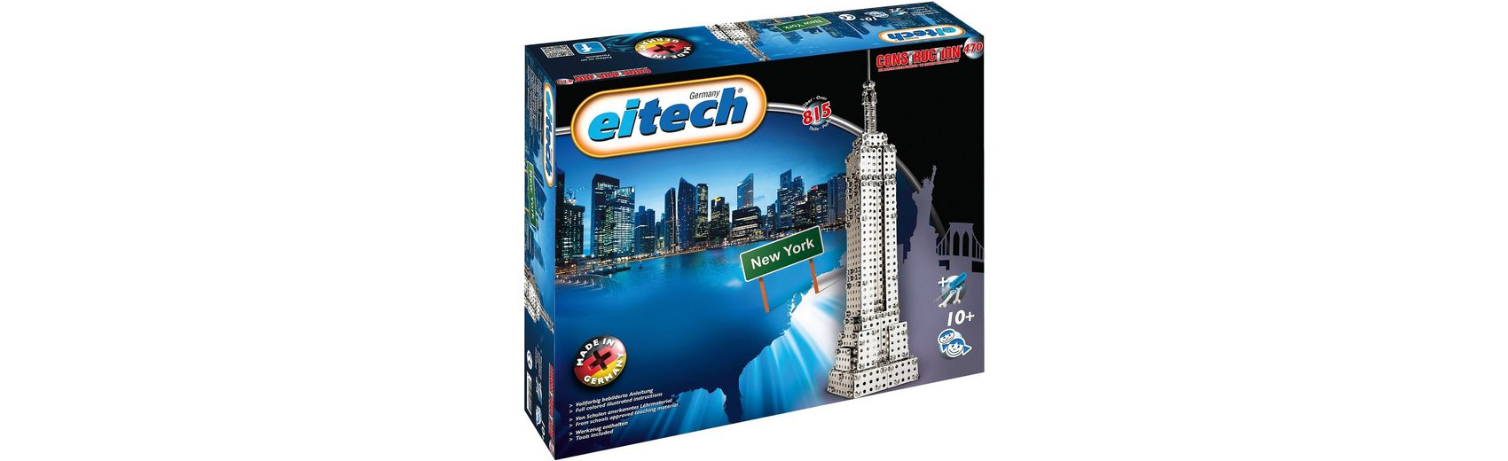 Eitech 470 KLASSIKER Metallbaukasten - New York Skyscraper Empire S