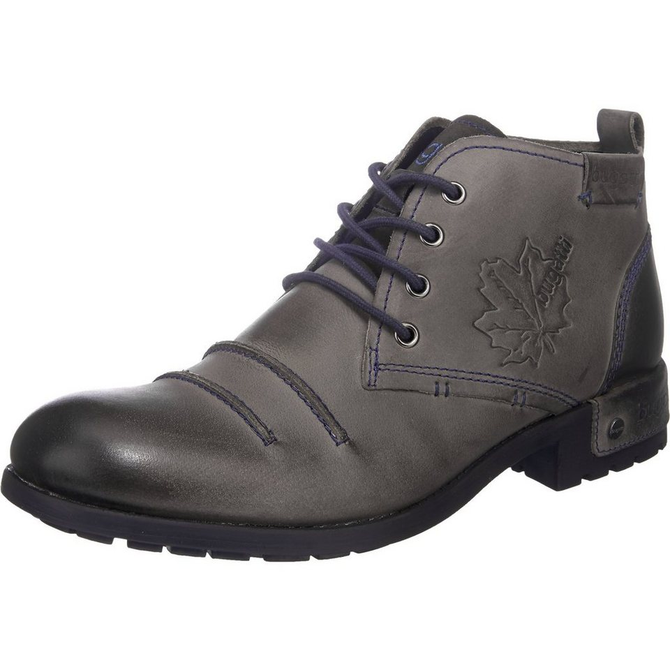 bugatti Freizeit Schuhe in dunkelgrau