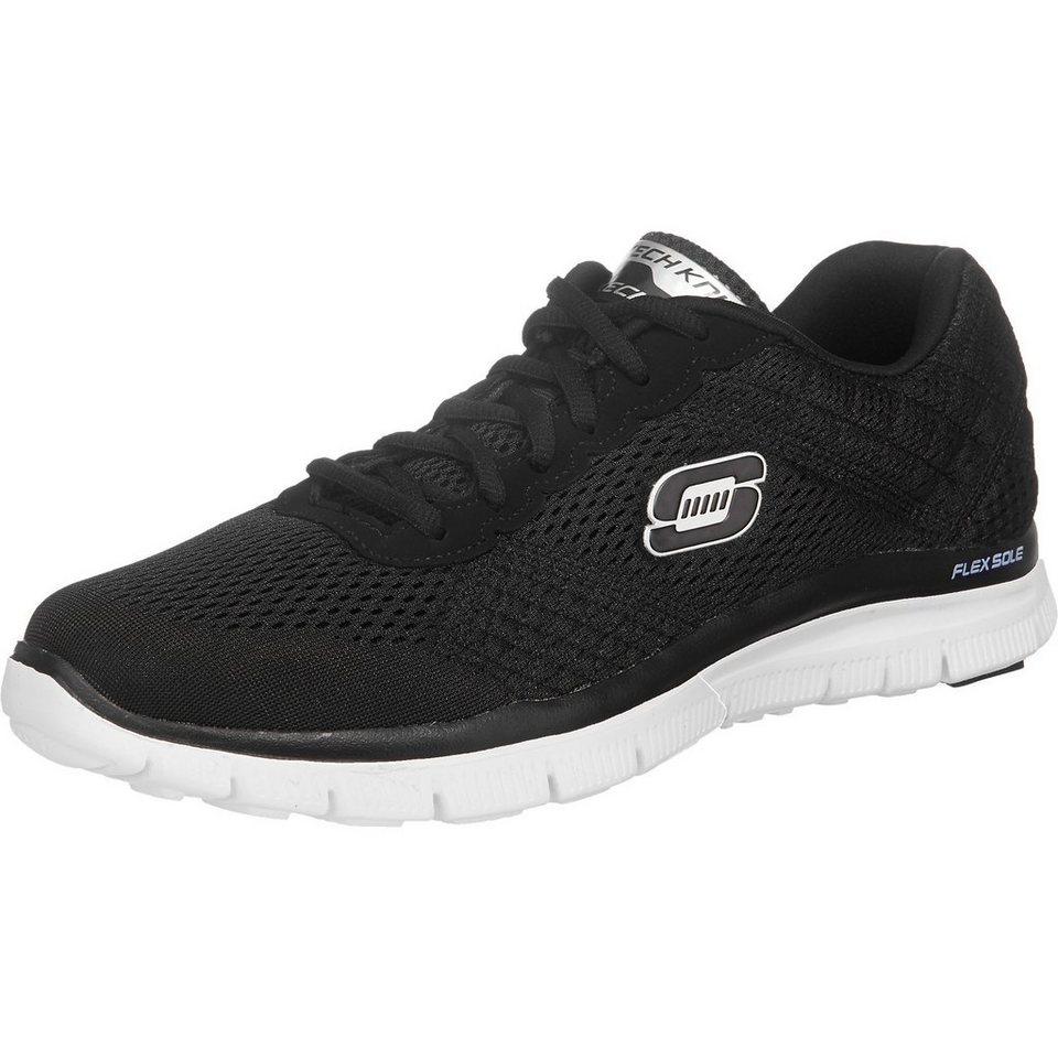 SKECHERS Flex AdvantageCovert Action Sneakers in schwarz
