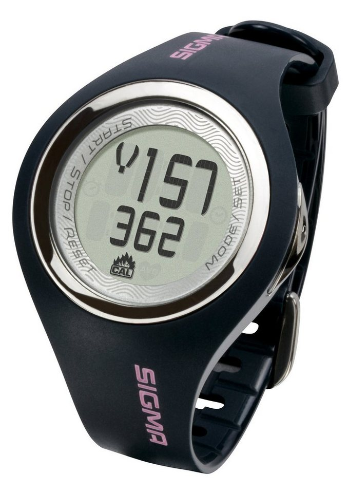 Sigma Sport Pulsuhr inkl. Brustgurt, grau, »PC 22.13 woman« in grau