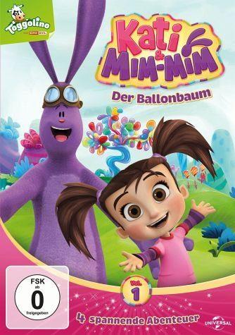 DVD »Kati & Mim-Mim, Vol. 1 - Der Ballonbaum«